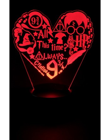 Lámparas de Harry Potter...